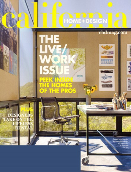 California Home & Design Cover - 4/1/2010