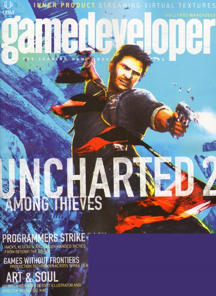 Game Developer Cover - 3/1/2010