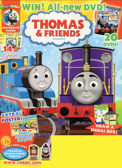 Thomas & Friends Cover - 3/28/2010