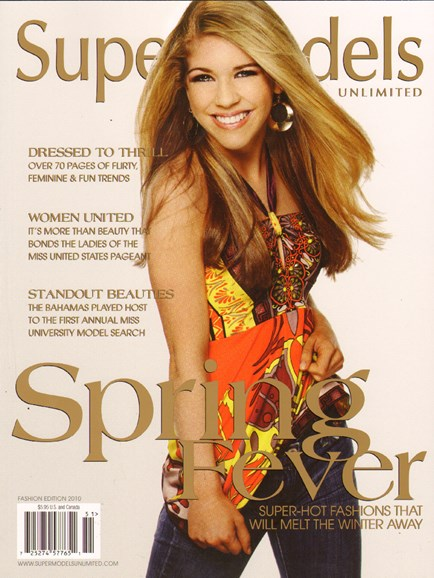 Supermodels Unlimited Cover - 4/1/2010