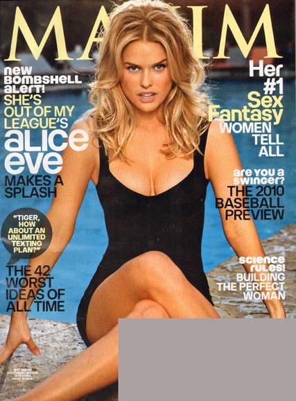 Maxim Cover - 4/1/2010