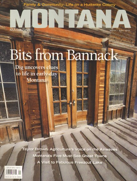 Montana Magazine Cover - 3/1/2010