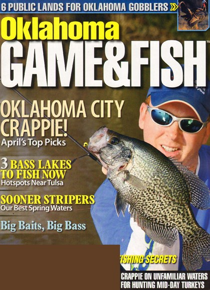 Oklahoma Game & Fish Cover - 4/1/2010