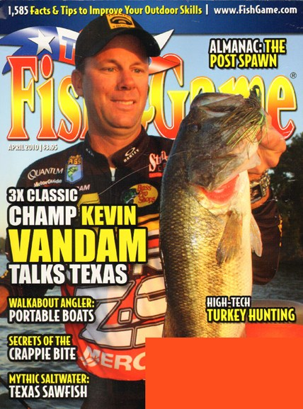 Texas Fish & Game Cover - 4/1/2010
