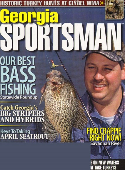 Georgia Sportsman Cover - 4/1/2010