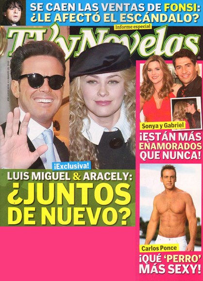 Tv Y Novelas Cover - 3/6/2010