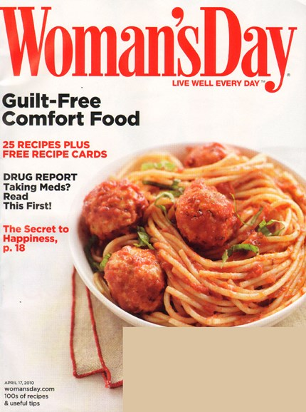 Woman's Day Cover - 4/17/2010