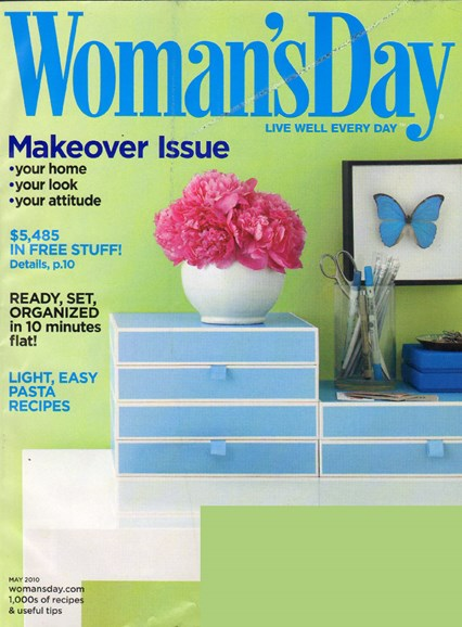 Woman's Day Cover - 5/1/2010
