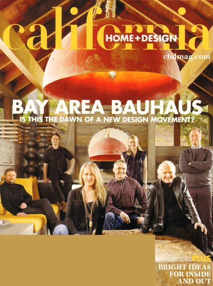 California Home & Design Cover - 5/1/2010
