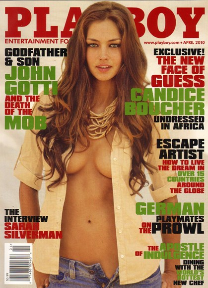 Playboy Cover - 4/1/2010