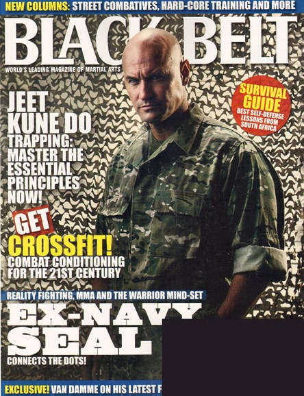 Black Belt Magazine Cover - 6/1/2010