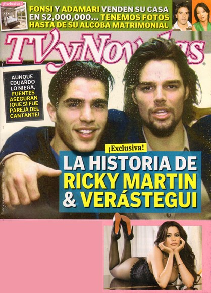 Tv Y Novelas Cover - 4/1/2010