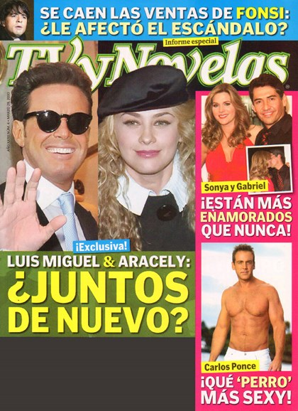 Tv Y Novelas Cover - 3/1/2010