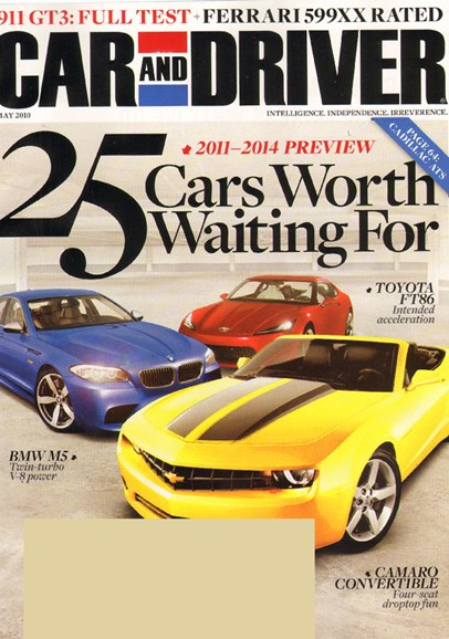 Car And Driver Cover - 5/1/2010