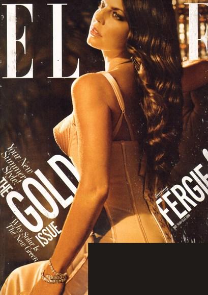 ELLE Cover - 5/1/2010