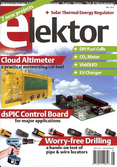 Elektor - North American Edition Cover - 5/1/2010
