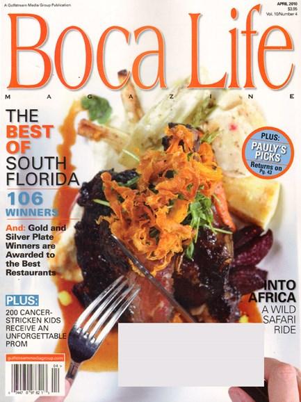 Boca Life Cover - 4/1/2010
