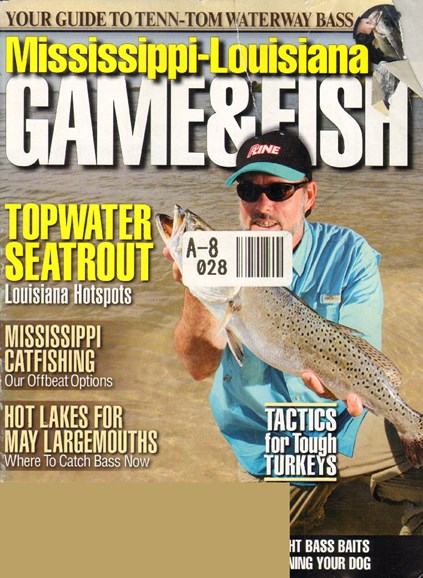 Mississippi Game & Fish Cover - 4/1/2010