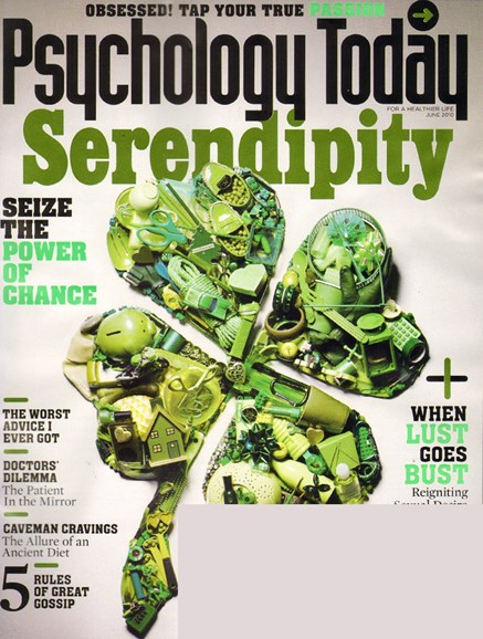 Psychology Today Cover - 6/1/2010