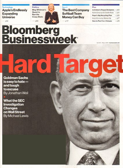 Bloomberg Businessweek Cover - 4/26/2010