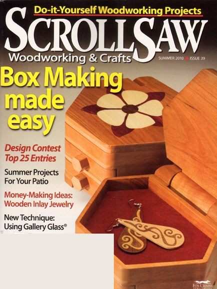 Scroll Saw Woodworking & Crafts Cover - 6/1/2010