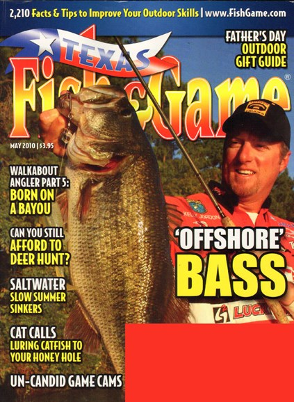 Texas Fish & Game Cover - 5/1/2010
