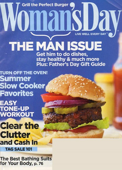 Woman's Day Cover - 6/1/2010