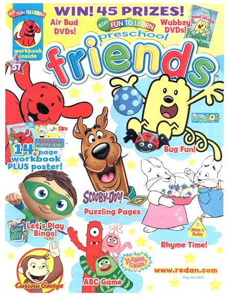 Preschool Friends Cover - 6/1/2010
