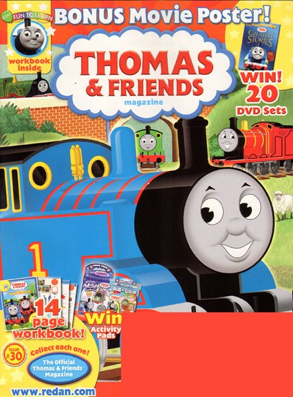 Thomas & Friends Cover - 6/1/2010
