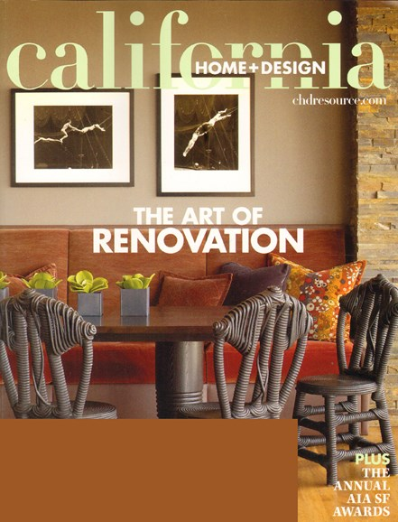 California Home & Design Cover - 6/1/2010