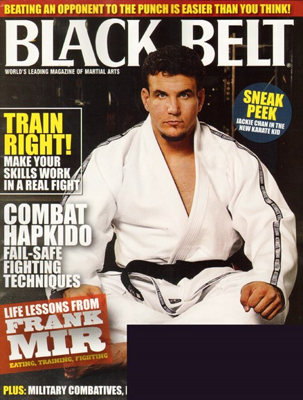 Black Belt Magazine Cover - 7/1/2010