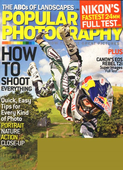 Popular Photography Cover - 6/1/2010