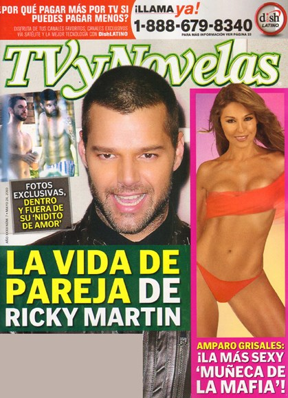 Tv Y Novelas Cover - 6/1/2010