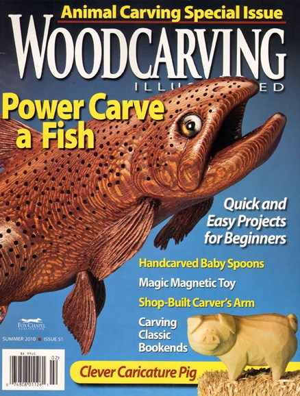 Wood Carving Illustrated Cover - 6/1/2010