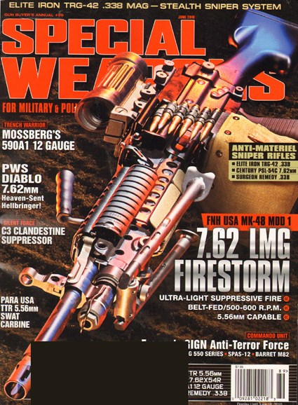 Special Weapons for Military & Police Cover - 6/1/2010