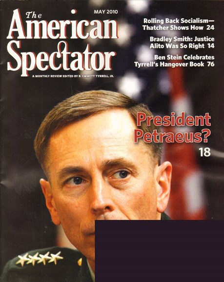 The American Spectator Cover - 5/1/2010