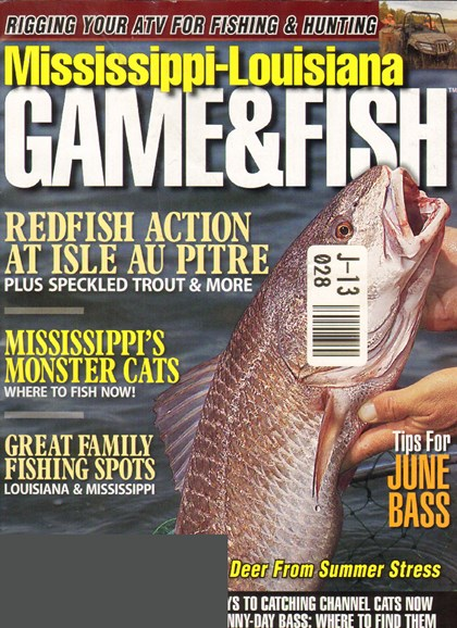 Mississippi Game & Fish Cover - 6/1/2010
