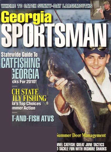 Georgia Sportsman Cover - 6/1/2010