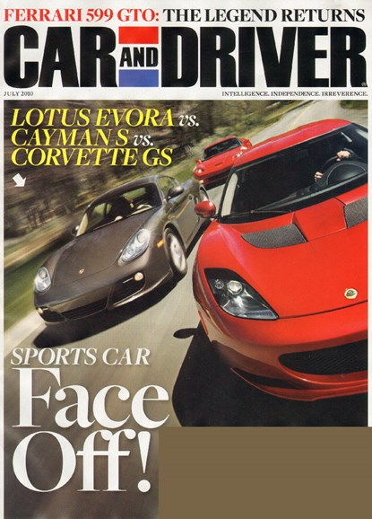 Car And Driver Cover - 7/1/2010