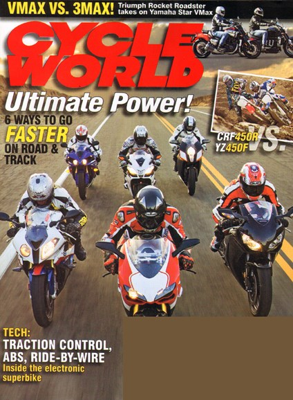 Cycle World Cover - 7/1/2010