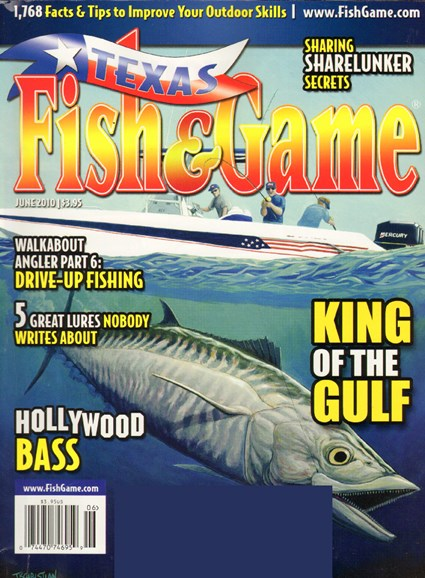 Texas Fish & Game Cover - 6/1/2010