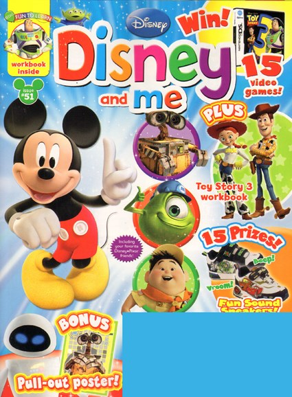Disney Junior Cover - 6/1/2010
