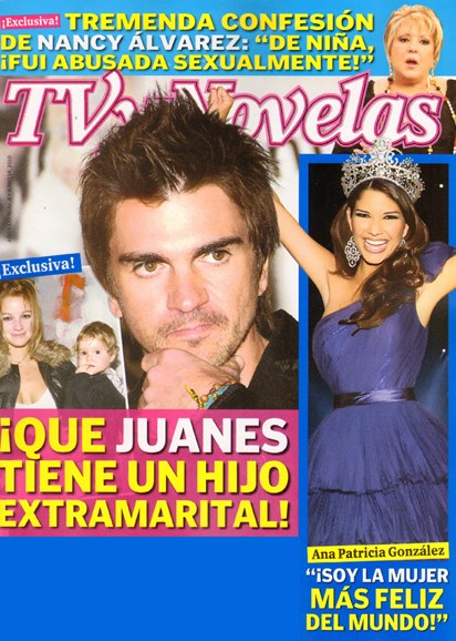 Tv Y Novelas Cover - 7/1/2010