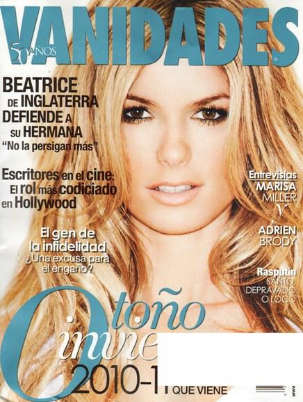 Vanidades Cover - 6/1/2010