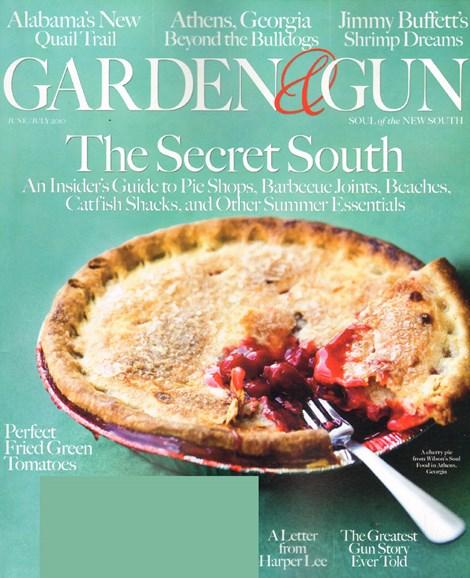 Garden & Gun Cover - 6/1/2010