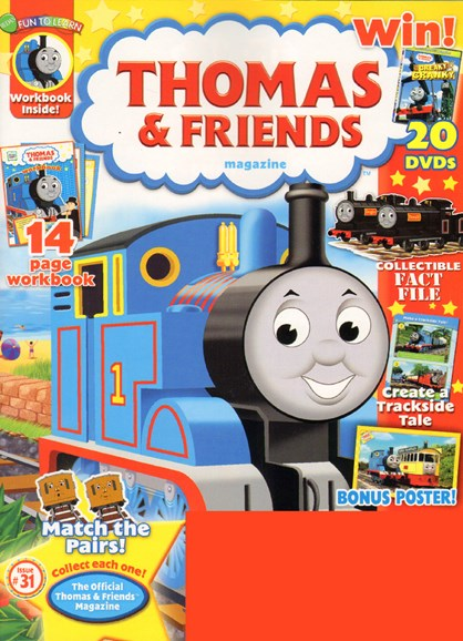 Thomas & Friends Cover - 7/1/2010