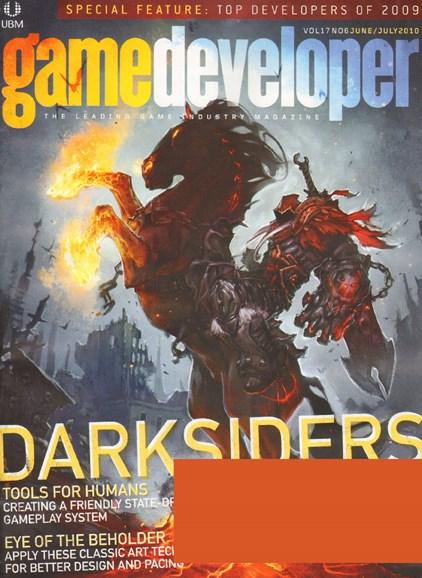 Game Developer Cover - 6/1/2010