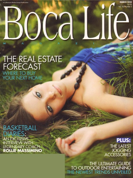 Boca Life Cover - 3/1/2010