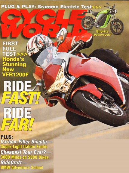 Cycle World Cover - 4/1/2010
