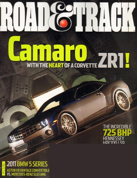 Road & Track Cover - 4/1/2010